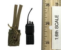 Russian Spetsnaz FSB Alfa Group 3.0 (Gorka) - Radio (vx600) w/ Pouch