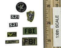 San Diego SWAT Team (Midnight Ops) - Patches