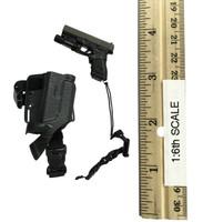 San Diego SWAT Team (Midnight Ops) - Pistol (G-17) w/ Dropleg Holster