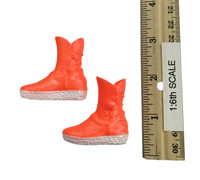 Sexy Cute Knitted Sweater Sets - Shoes (Orange) (No Ball Joints)