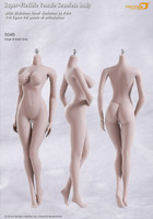 Seamless Female S04B Large Breast: Pale w/ Metal Structure - Boxed Figure