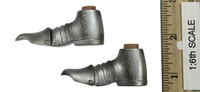 Gothic Knight (Exclusive Edition) - Boots (No Ball Joints) (Metal)
