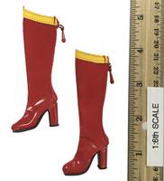 Heroes & Villains Lingerie Sets: Boots (Kara) (For Feet)