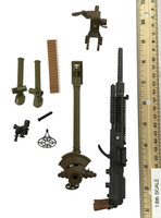 Japanese Infantry Arms in WWII - Machine Gun (Type 92) (Metal Parts)