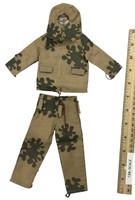 Soviet Female Sniper Uniform Set - Autumn Amoeba Camo Suit