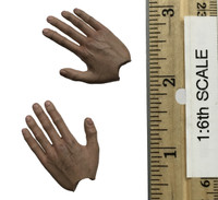 """77th Infantry Division Captain """"Sam"""" - Hand Set (Bendable Fingers) (Weathered)"""