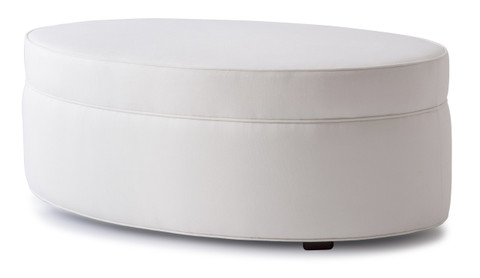 Charmant ... Style 125 Oval Ottoman. Image 1