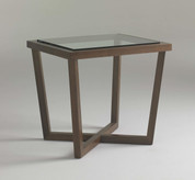 Canted End Table