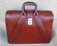 Handmade Valise Style(Lawyers) Leather Briefcase
