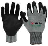 Y-GRIP™ Cut Resistant Polyurethane Coated Gloves  ## F4960 ##