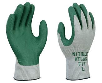 ATLAS® Fit Nitrile Palm Coated String Knit Gloves  ## 301 ##