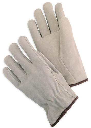 Standard Split Cowhide Work Gloves  ## 8247 ##