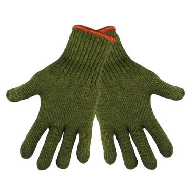 Green Rag Wool Gloves  ## S77RW ##