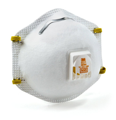 3M 8511 N95 Particulate Respirators  ## 3MR8511 ##