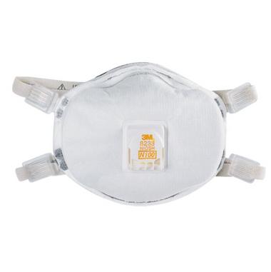 3M 8233 N100 Particulate Respirators  ## 3MR8233 ##