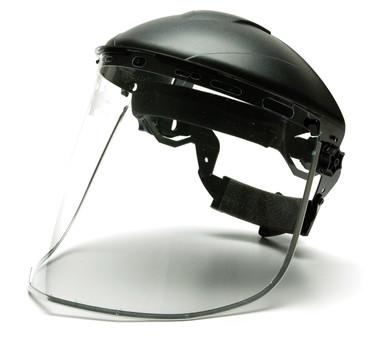 Aluminum Bound Polyethylene Face Shields ##S1015 ##