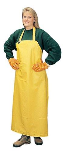 "Yellow PVC Polyester 35""x 47"" Aprons  ## 1328 ##"