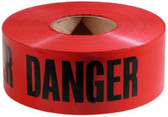 "Red ""Danger"" Barricade Tape  ## DT100 ##"