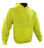Non-ANSI Hi-Vis Hooded Sweatshirts ##028016 ##