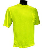 Hi-Vis Knit Lime T-Shirts  ## G810 ##