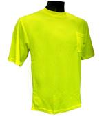 Hi-Vis Knit Lime T-Shirts  ## G810 ##