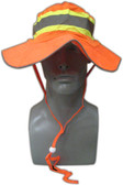 Hi-Vis Orange Mesh Ranger Hats  ## BH-1271O ##