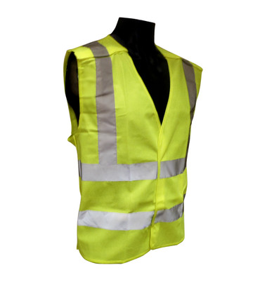 Breakaway Class 2 Safety Vests - Mesh - Hi-Vis Yellow  ## VEST 3G ##