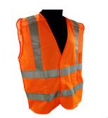 Breakaway Mesh Class 2 Safety Vests - Safety Orange ##VEST3O ##