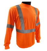 Class 2 Long Sleeve Shirt - Orange ##G826 ##