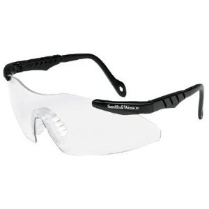 Smith & Wesson® Magnum 3G Mini Safety Glasses Clear Lens  ## 3011673 ##