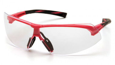Pyramex® Onix Pink Frame Safety Glasses Clear Lens ##SP4910S ##