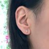 Kate Gemstone Baguette Earrings