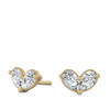 Suki Diamond Heart Earrings