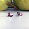 Suki Gemstone Heart Earrings