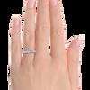 Womens Wedding Band Ethical Diamond Pave Set