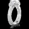 Abigail Brilliant Cut 3-Stone Ring