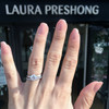 Laura Preshong Ethical Engagement Ring - Tulip Solitaire Ring