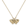 Moth 14KY Necklace