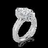 Valentina Diamond Baguette Halo Ring
