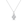 Dixie Diamond Silver Necklace