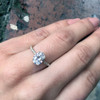 Laura Preshong Engagement Ring -  Charlotte Diamond Band Engagement Ring
