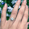Laura Preshong Engagement Ring -  Charlotte Ethical Diamond Band Engagement Ring