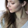 Odessa Petite Silver Diamond Necklace