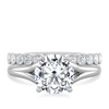 Gabrielle Brilliant Cut Engagement Ring