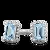 Vintage Inspired Beaded Halo Ethical Gemstone Earrings