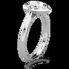 Laura Preshong Engagement Ring - Betsy Pear Bezel Engagement Ring