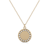 Bailey Petite 14K Yellow Gold Diamond Necklace