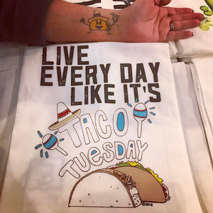 Taco Tuesday Towel