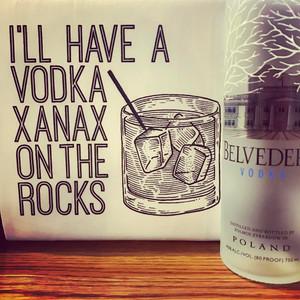 Vodka Xanax Towel