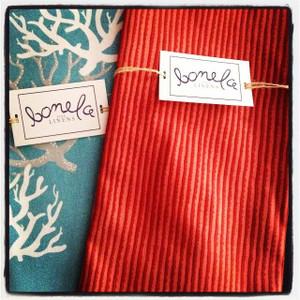 Bonela Linens - Blue Coral